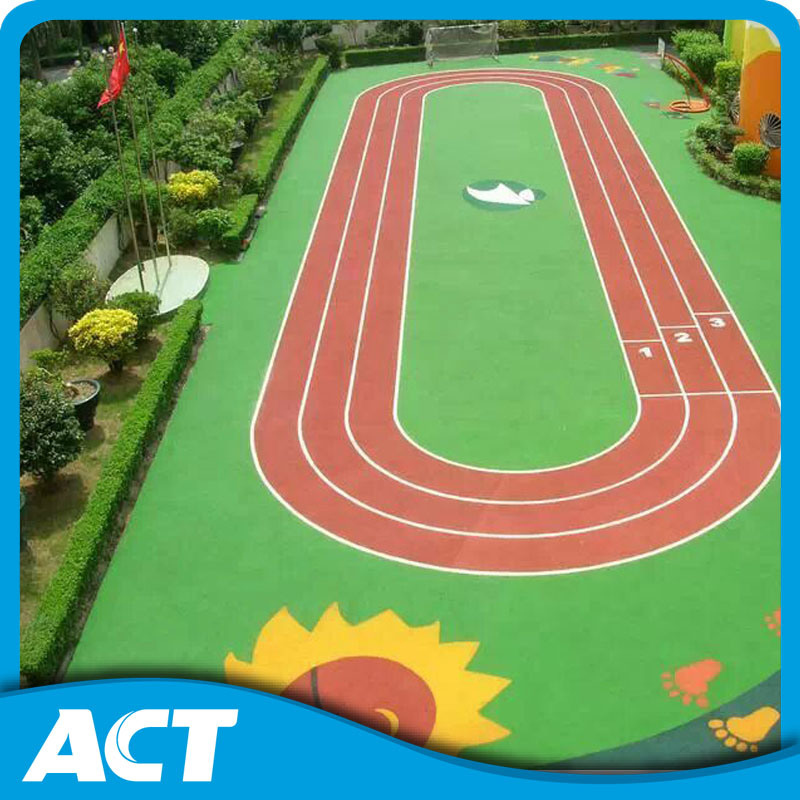 Comfortable Synthetic Lawn for Kindergarten Soft Surface