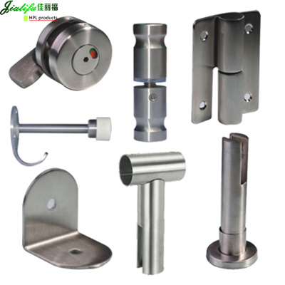 China stainless steel toilet partition hardware photos for Bathroom partition accessories