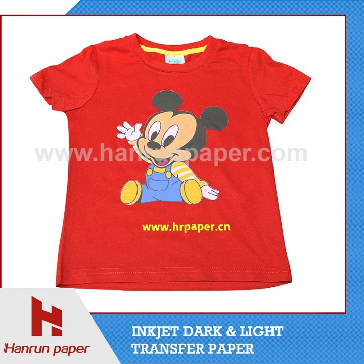 Iron on Heat Press Transfer Paper for Garment