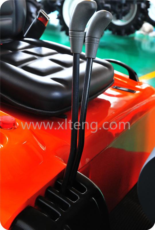 Ltma Manual Hydraulic Forklift 1.5t 3-Wheel Electric Forklift