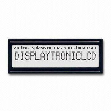 16 X 1 Character LCD Module with Various LED Backlight, Stn/FSTN: Acm1601j Series-Module