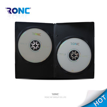 High Quality 14mm Single/Double Side Black DVD Box DVD Cover