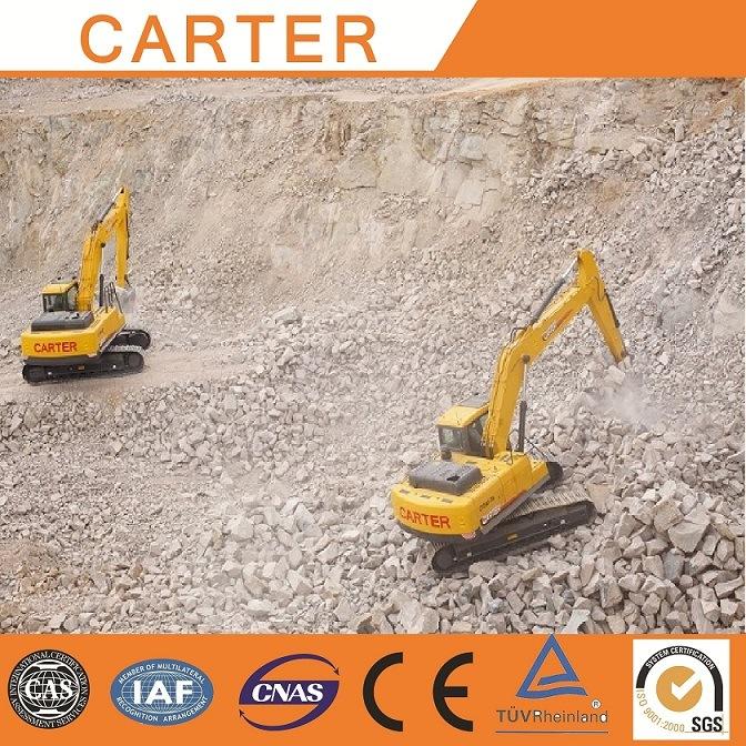 CT220-8c (22T) Multifunction Heavy Duty Crawler Backhoe Excavators