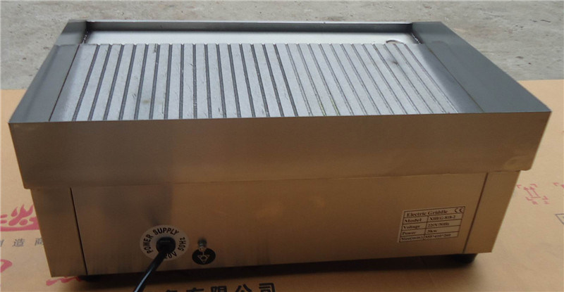 Commercial Electric Grill for Grilling Food (GRT-E818-3)