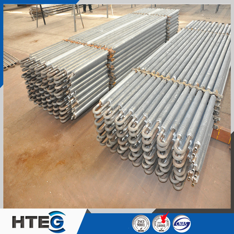 High Frequency Welding Stainless Steel Spiral Fin Tube for Boiler Economizer