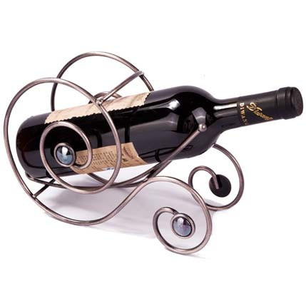 China Hardware Accessories Factory Supplies Cheap Wine Shelf Manufacturer