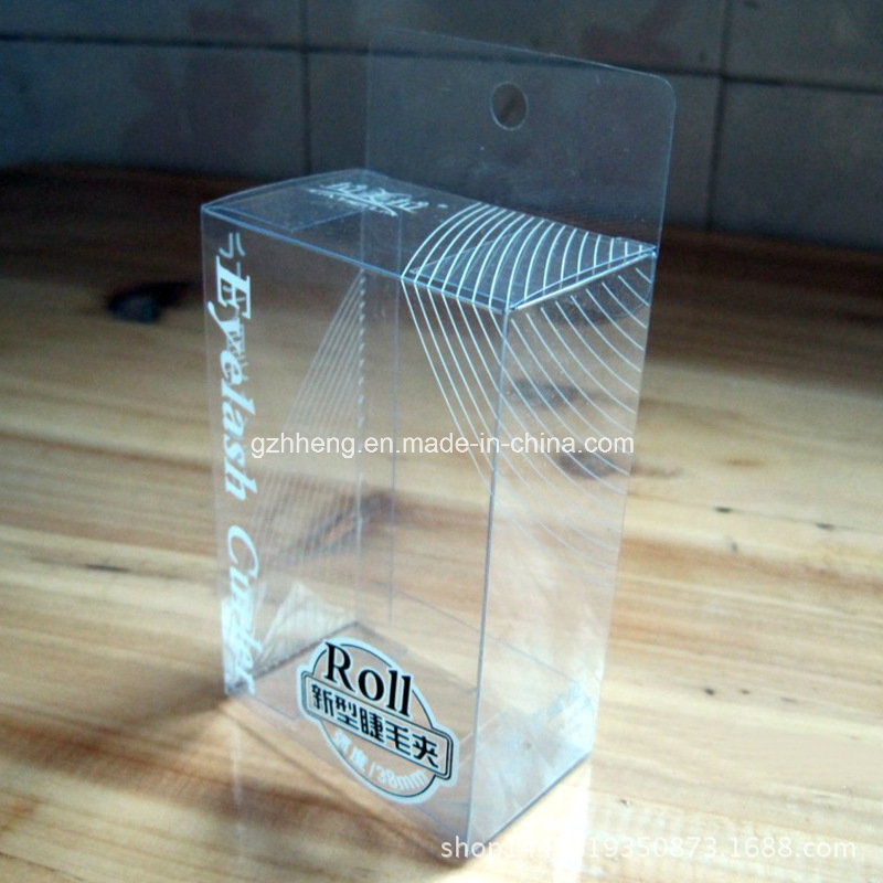Custom Plastic Packaging Folding Printing Boxes (PVC box 009)
