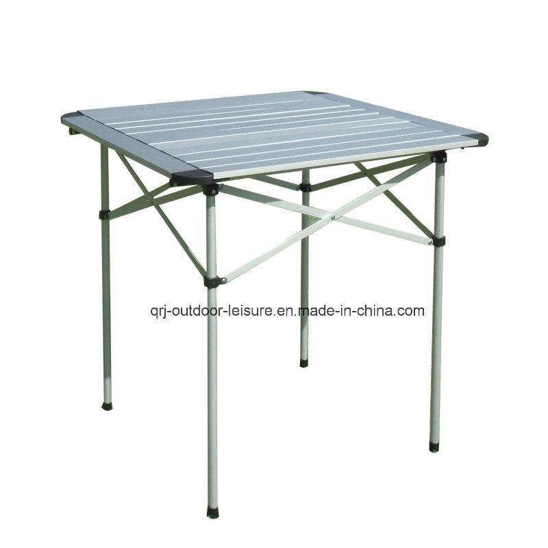 Aluminum Square Folding Table (with round edges)