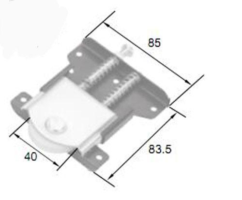 Best Quality Roller R8025b for Aluminum Door & Window