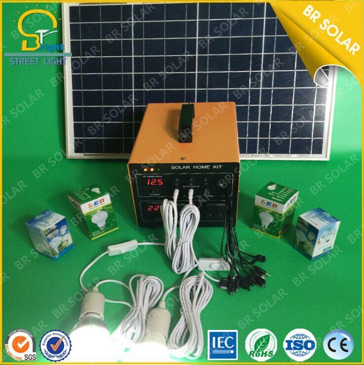 2 Years Warranty BR500W-60ah Solar Home System