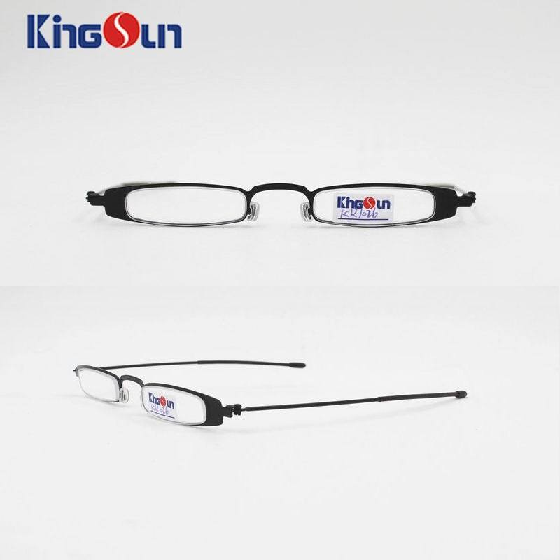 Steel Slim Frame with Wire Temple Reading Glasses