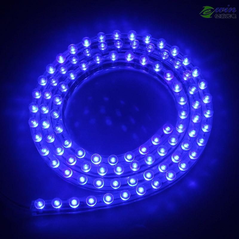 24cm/48cm/72cm/98cm/120cm 12V/24V DIP LED Flexible Strip for Car Lighting
