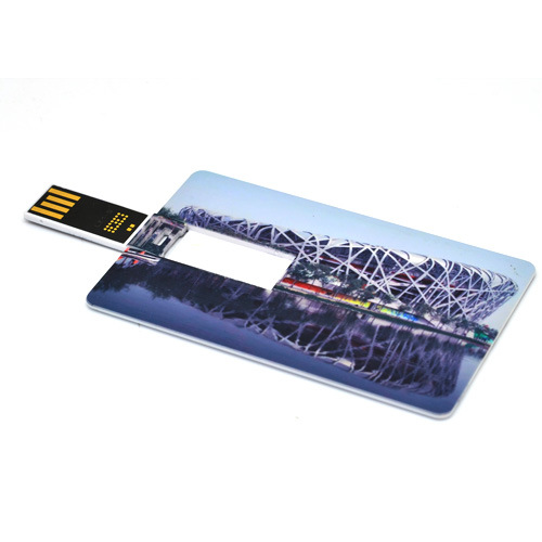Plastic USB Webkey Business Card Size with Custom Printing