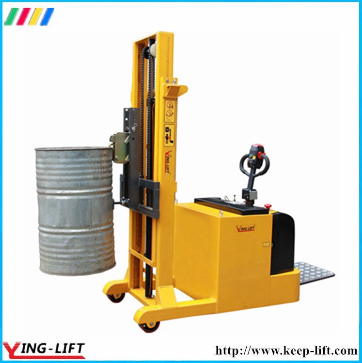 Counter Balance Drum Stacker for Steel &Plastic with Eagle-Grip Yl420b