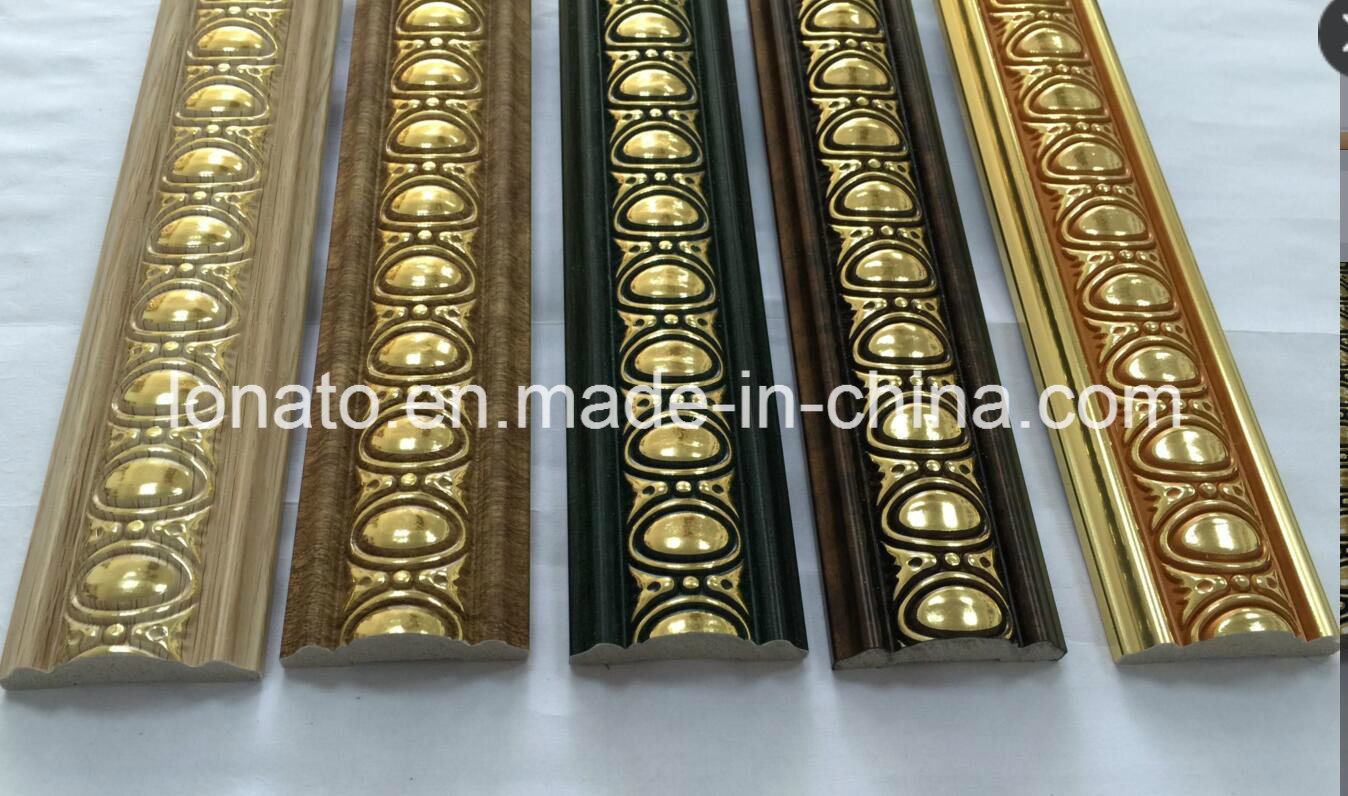 Interior PS Decoration Moulding for Wall and Floor Panel