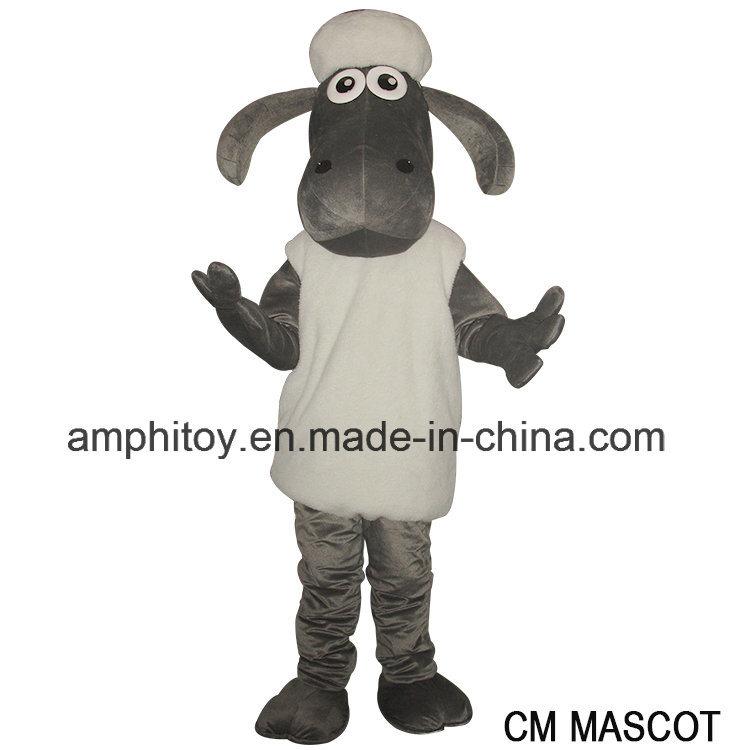 Shaun The Sheep Cartoon Mascot Costumne