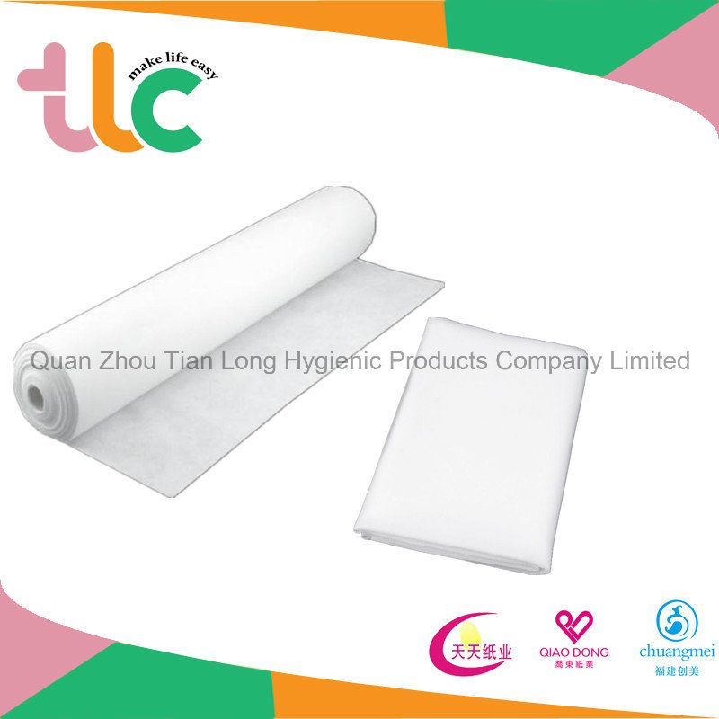 Disposable Coated Medical Pads Raw Material Intergrated Non-Woven