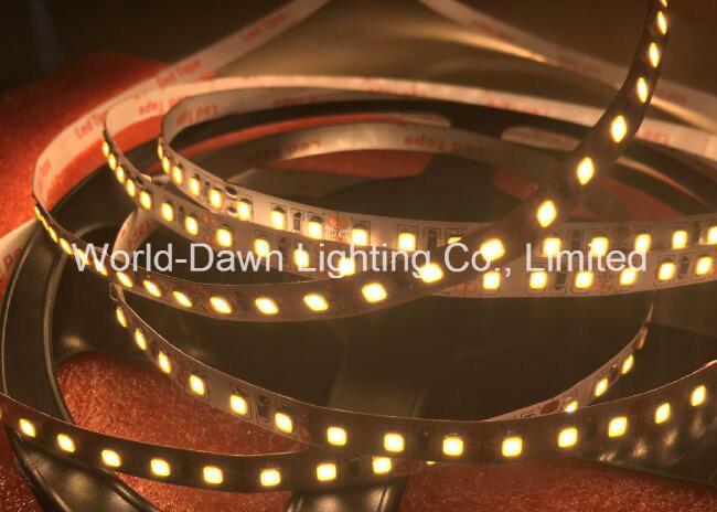 SMD2835-120-Ww Ce EMC LVD RoHS Two Years Warranty, Warm White Flexible LED Strip Light