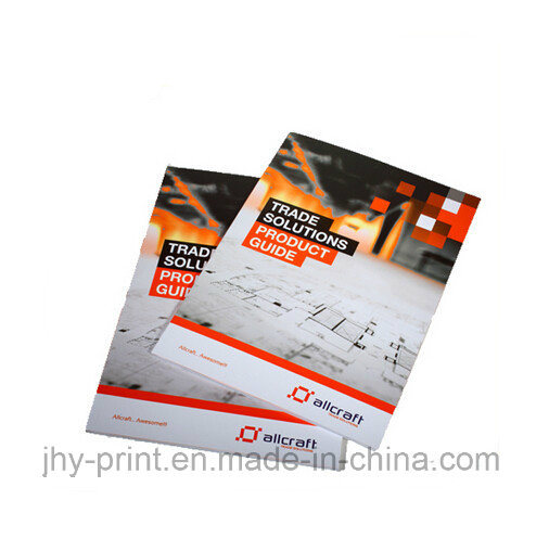 China Professional Full Color Catalogue Printing Service (jhy-410)