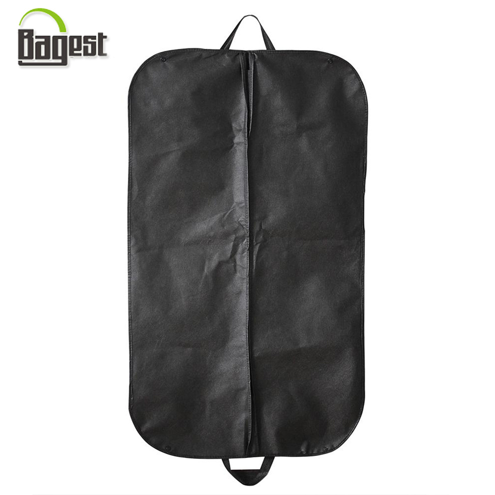 Non Woven Suit Cover with Zipper and Button to Fold