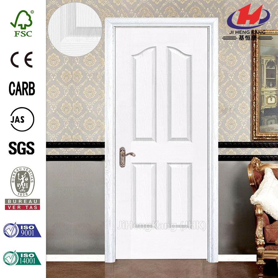 White Primer/ Veneer Molded/ Moulded HDF/ MDF Interior Wooden Door