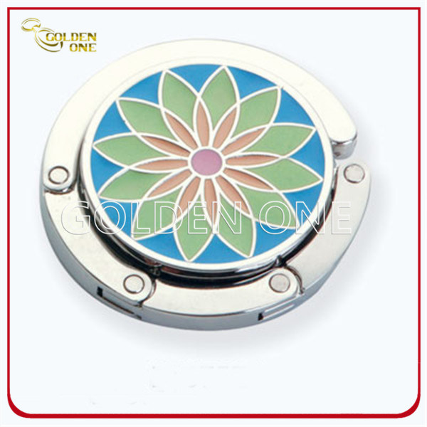 Creative Style Customized Folding Soft Enamel Purse Hanger