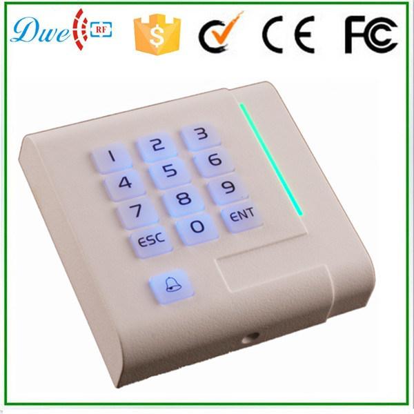 New Design Keypad Backlight Mf Wiegand Acess Contorl RFID Reader