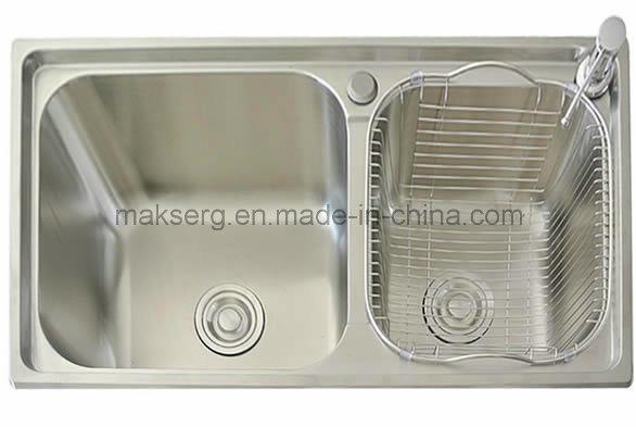 Stainless Steel Double Basins Kitchen Sink Supplier OEM ODM