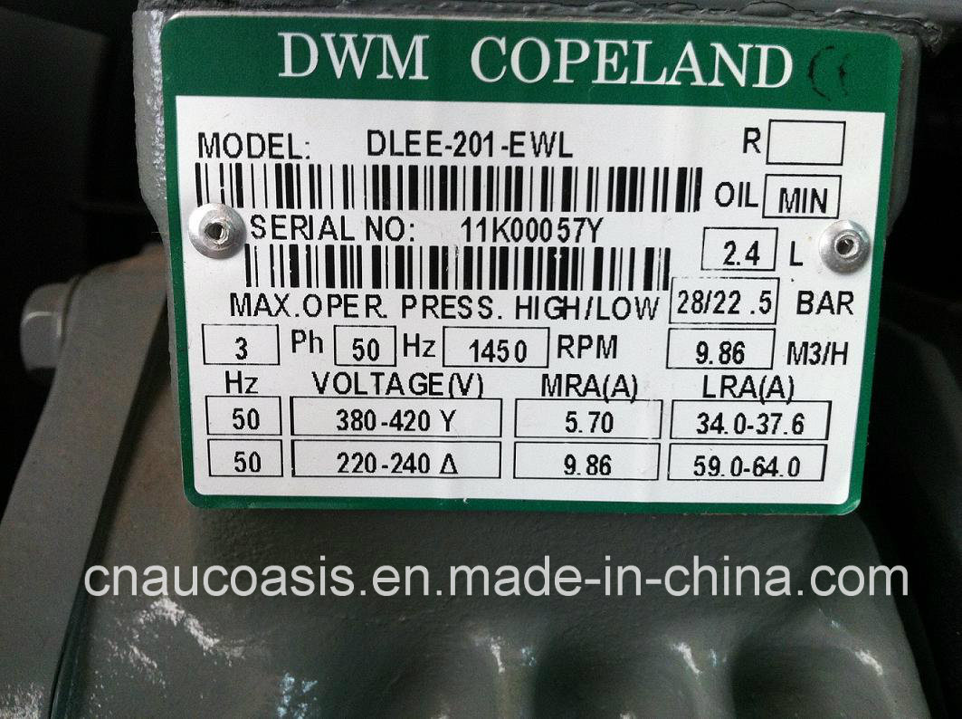 Emerson Dwm Semi-Hermetic Copeland Compressor for Refrigeration