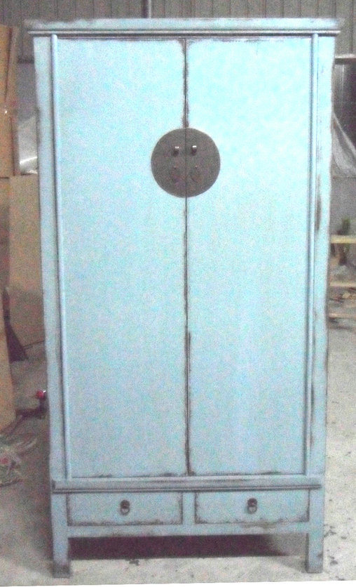 Chinese Antique Furniture Big Wine Cabinet Lwa381