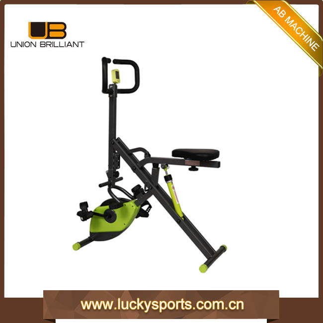 Gym Fitness Equipment Total Abdominal Body Crunch with X Bike