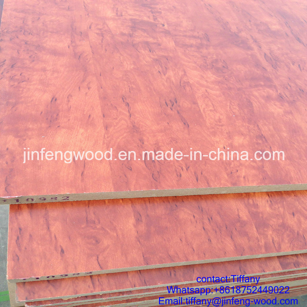 Beech Color Furniture Board Melamine Laminated MDF Board Melamine Faced MDF Melamine Particle Board