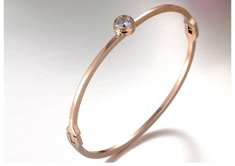 316L Stainless Steel Bracelet Fashion Jewelry Diamond Bracelet (hdx1065)