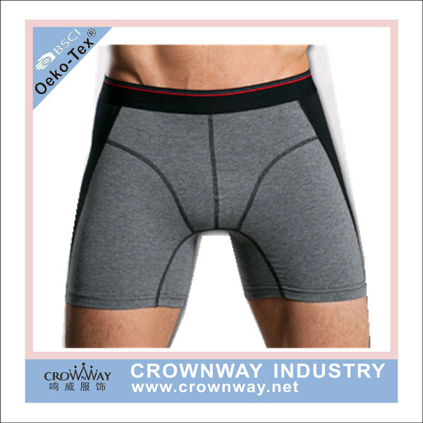 Mens Underwear Boxer Briefs with High Quality (CW-MU-10)