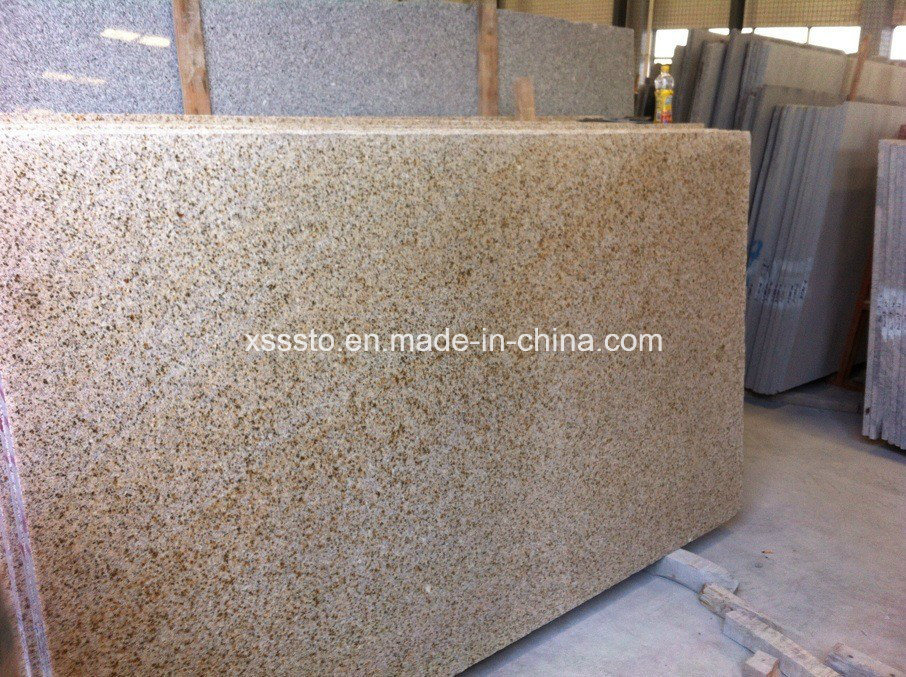 Shandong Rusty G682 Yellow Misty Granite Stone Slabs & Countertops