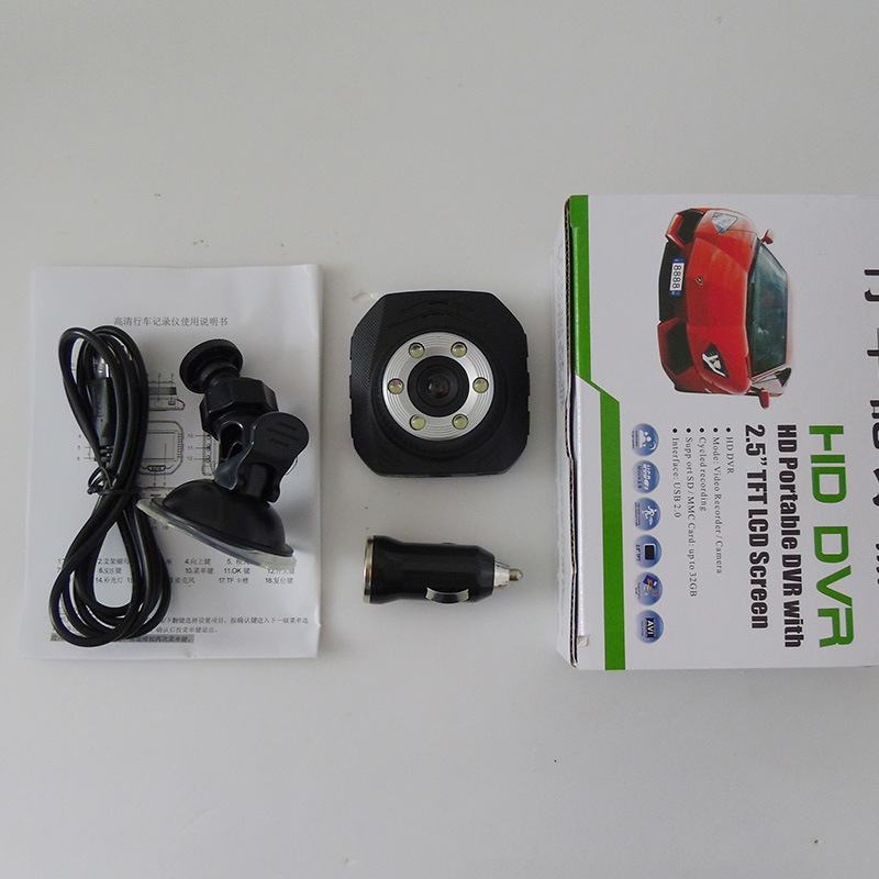 2.0inch TFT 120 Degree 1280X720p Rear View Car Black Box for Car DVR (YT-Car DVR 338T)