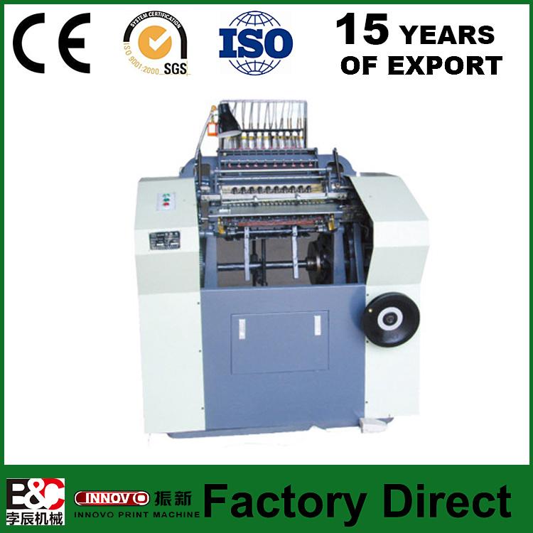 Zxsx01b High Speed Book Sewing Machine & Collating Machine Sewing Machinery