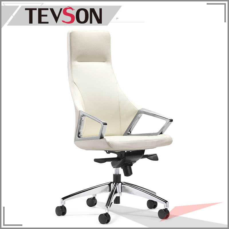 Modern PU or PVC Swivel Leather Executive Chair