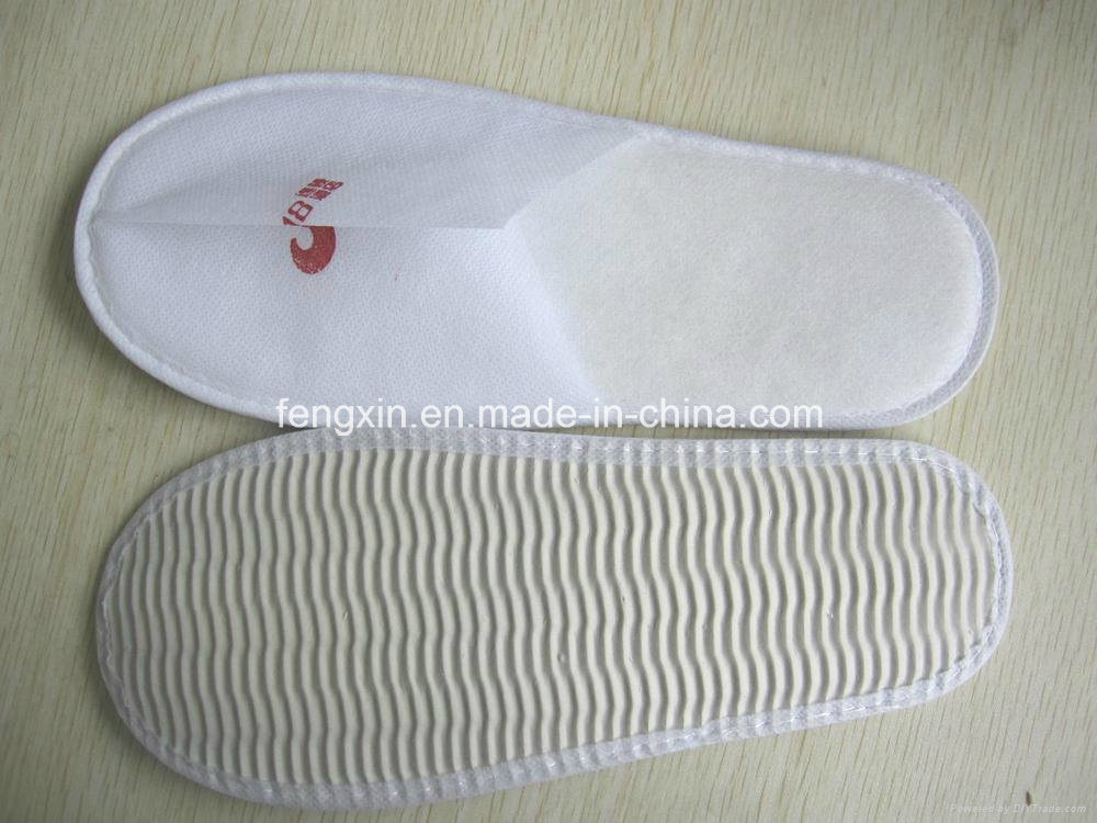 Disposable Hotel Pleuche Slipper
