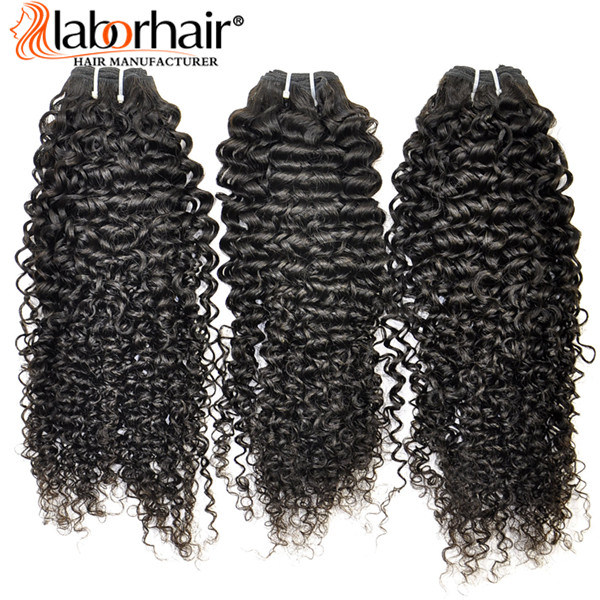 100% Natural Kinky Curly Virgin Brazilian Human Hair Extension Lbh 117