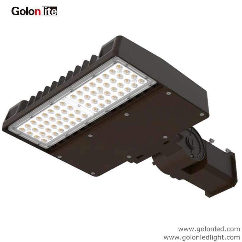 High Quality Best Price Super Bright 120lm/W Factory 100W 70W Daylight Photocell Sensor LED Shoebox Light