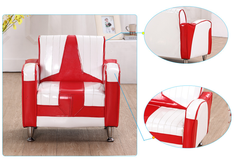 1+2 Home Sofa Set / PVC Leather Kids Furniture