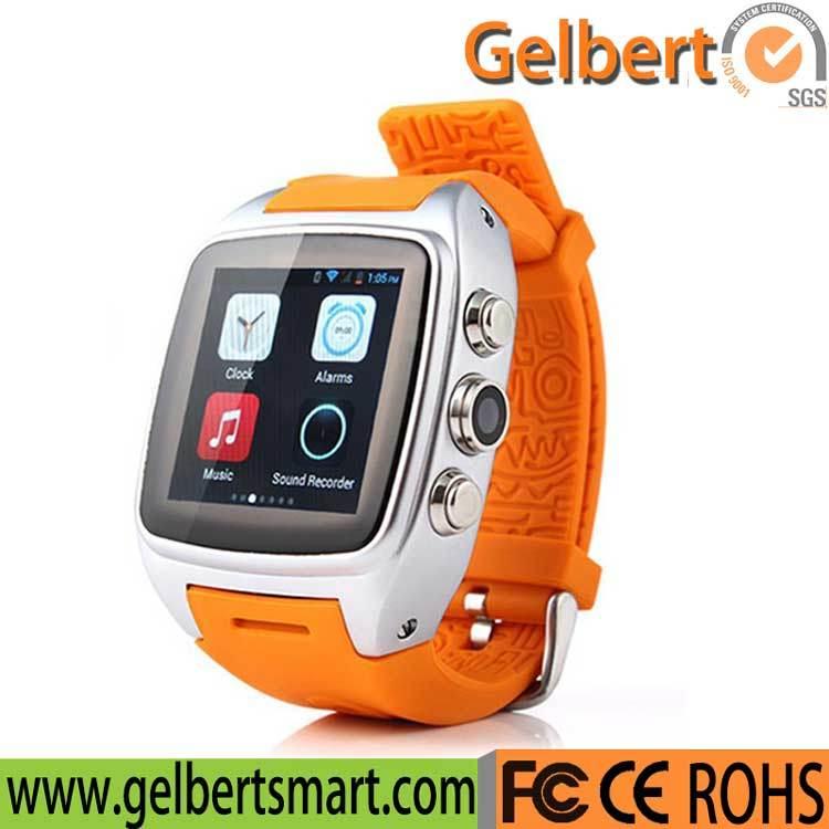Gelbert X01 3G WiFi GPS WCDMA Android Smart Watch Phone