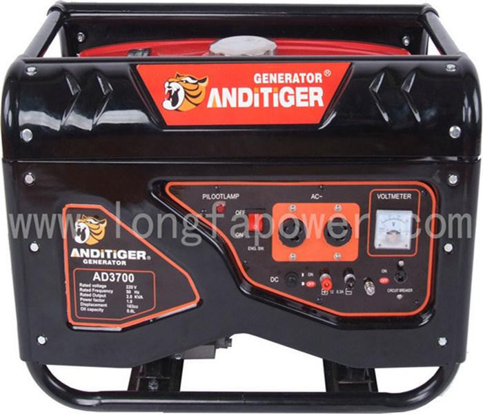 7HP 3.5kw/3.5kVA Super Silent Petrol Gasoline Generator Set