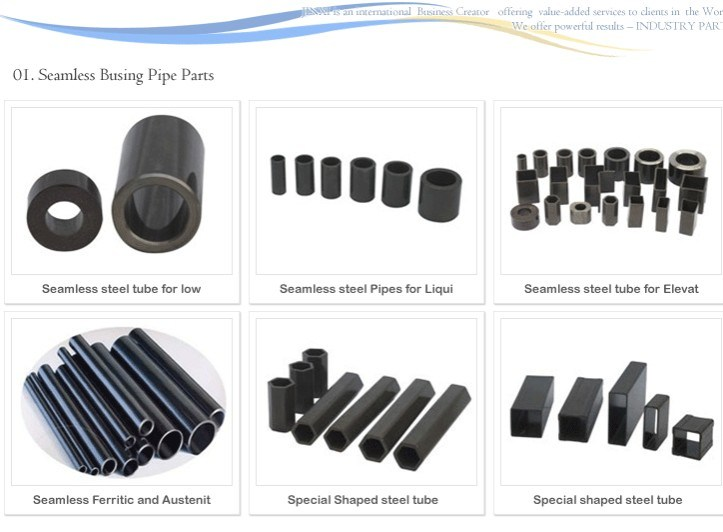 High Quality Special Section Welded Tubes