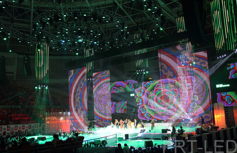 Waterproof P10 Soft LED Video Screen Flexible for Stage/Event/Show