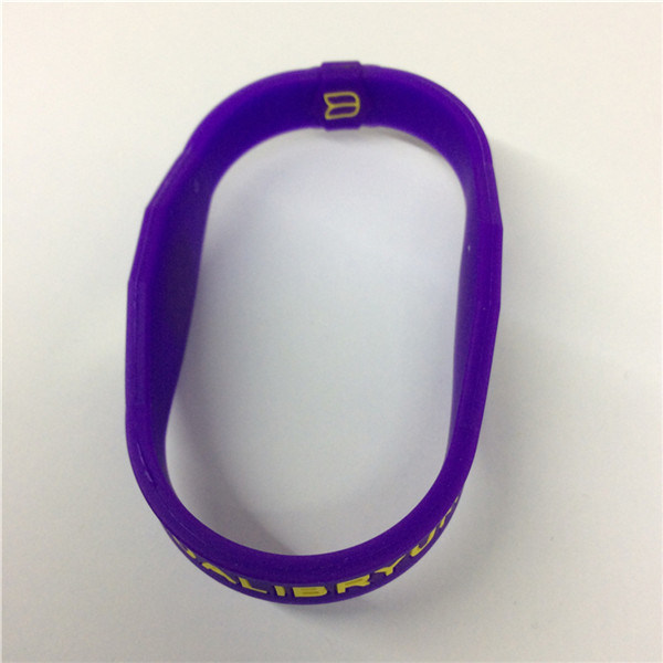 2016 Top Quality Popular Printed Silicone Bracelet Wristband