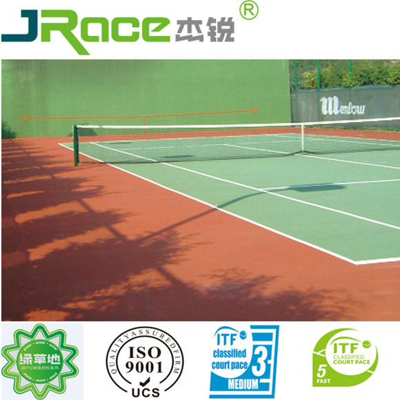 High Elastic Rubber Tennis Court Covering