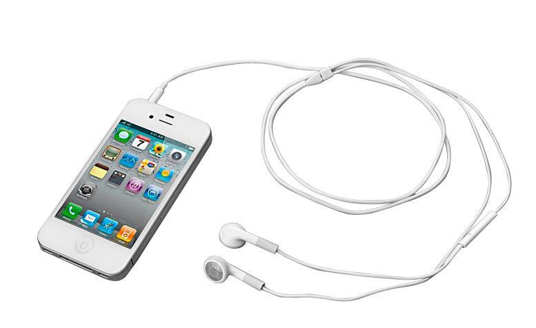 Earphones with Mic and Volume Control for iPhone 4S