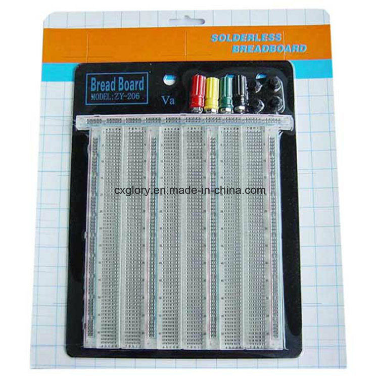2390 Points Transparent Solderless Breadboard